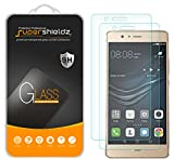 (2 Pack) Supershieldz for Huawei (P9 Lite) Tempered Glass Screen Protector, Anti Scratch, Bubble Free
