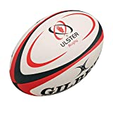 Ballon de Rugby Copie GILBERT Ulster Taille Moyenne - Blanc, Midi