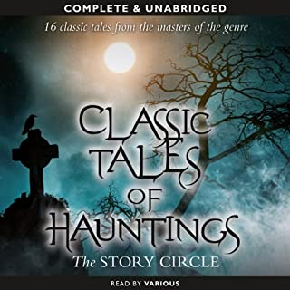 Classic Tales of Hauntings audiobook cover art