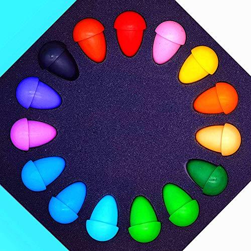 KZZILLIK Crayons, Toddler Crayons, Crayons for Kids Ages 2-4 Washable Crayons Jumbo Crayons, Crayons for Toddlers Crayons for Kids Ages 4-8