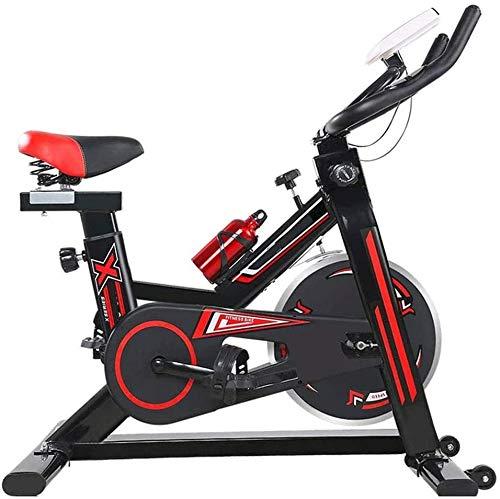 ZOUSHUAIDEDIAN La correa de transmisión de bicicleta de ejercicios - cubierta bici de ciclo inmóvil for el hogar entrenamiento de la gimnasia WithThere son super suave Cojines, aquí son de aleación de