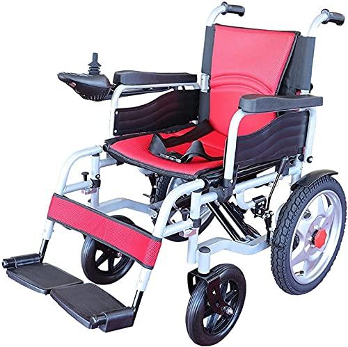MENG Ruedas Eléctricas para Sillas de Ruedas Reposabrazos Dual-Motor de Doble Motor de Doble Motor Scooter de Movilidad de Silla de Ruedas Inteligentes para Ancianos Y Discapacitados