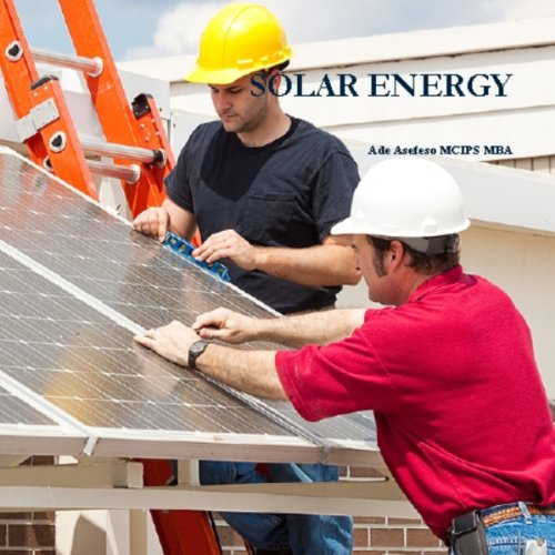 Solar Energy audiobook cover art