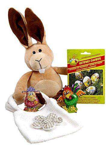 CharmingBoxes - Cesta de Pascua para niños, chocolate con