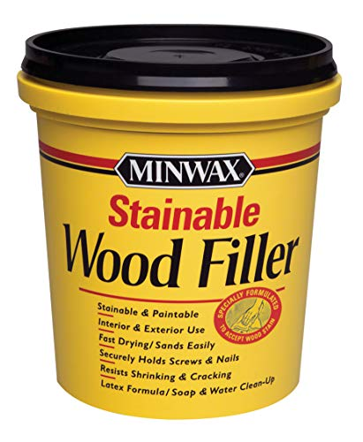 Minwax Stainable Wood Filler, 16-Ounce