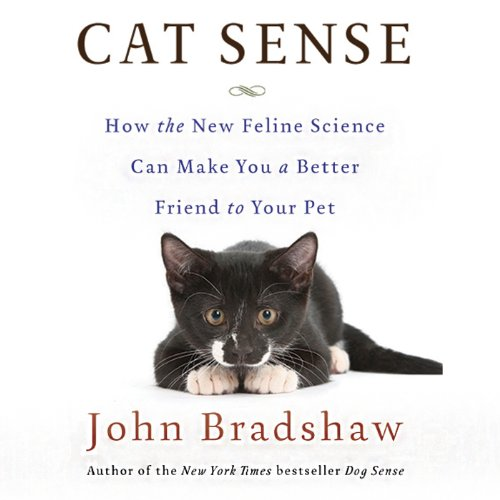 Cat Sense audiobook cover art