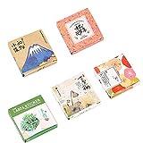Kawaii Papier-Aufkleber-Set (5 Set), 200 Teile, japanischer Stil, Sukkulenten-Blumen, süßes Scrapbooking, dekoratives Tagebuch, Tagebuch, handgefertigt, DIY Etiketten, Geschenkverpackung,...