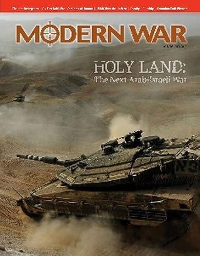 DG  Modern War Magazine, Issue   8, with Holy Land, the Next Arab-Israeli War, Board Game, Special Issue by DG Decison Games Modern Wars Magazine