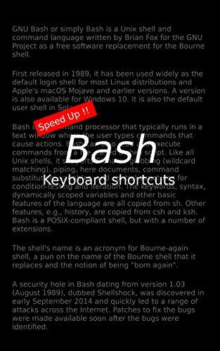 Bash keyboard shortcuts (English Edition)