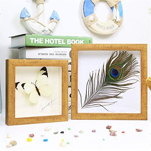 A3 / Rectangular/Marco De Espejo Cuadrado para El Hogar/Marco De Fotos Tridimensional/Montaje En Pared/Pared Decorativa/Plexiglás 15x21 Inch(38.2x53.2cm)
