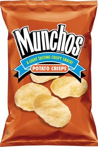 Munchos Regular Potato Crisps, 4.5 Oz Bags (Pack of 12)
