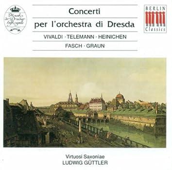 Concertos - Vivaldi / Telemann / Fasch / Graun