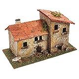 Oliver Art - Figura de casita Rural, para completar tu belén...