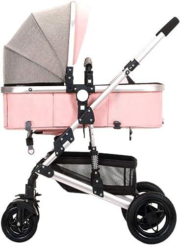 servicio de primera clase Cochecito de bebé para 4 Seasons silla de bebé bebé bebé plegable ligera   con sistema de seguridad de 5 puntos   4 ruedas a prueba de golpes   Asiento ajustable   Canasta de almacenamiento grande  despacho de tienda