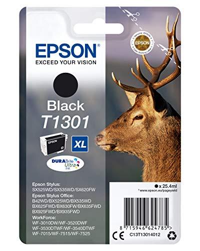 Epson Ink Cart T1301Cartouche d'encre noir Amazon Dash Replenishment est prêt