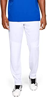 Under Armour Men's IL Utility Relaxed Pants, White (100)/Black, Size X-Large