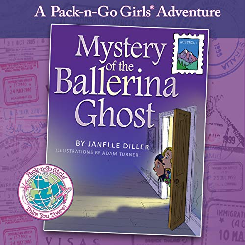 Mystery of the Ballerina Ghost: Austria audiobook cover art