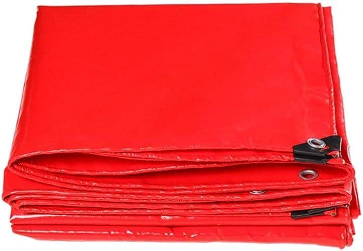 Sgfccyl Bache rembourrée en Tissu Anti-Rouge Camion imperméable imperméable à l'eau de Pluie bache en Toile Rouge bache Couteau gratter Tissu imperméable bache de Vent bache (Taille   2  3m)