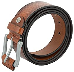ShopnZ Leather Belts for Men- Full Grain Leather Belts - Genuine Handmade Leather Belts - 39 mm – 120