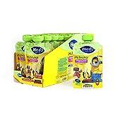 Hero Baby Mi Fruta - Bolsita de Fruta con Plátano y Fresa, Sin Azúcares Añadidos, para Bebés a Partir de los 12 Meses - Pack de 18 x 100 g