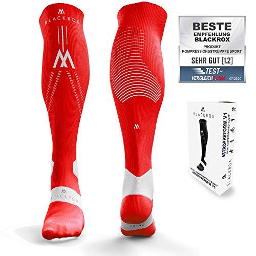 BLACKROX Medias de compresión deportivas, calcetines de compresión para correr, fútbol, hombre y mujer