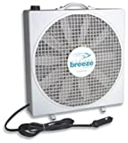 Fan-Tastic Vent 01100WH Endless Breeze - 12 Volt Fan