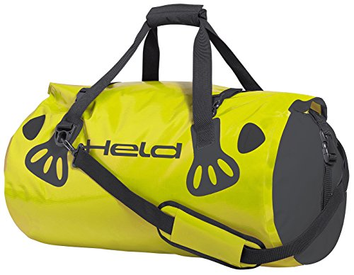 Held 4331-00_58_60 Carry-Bag, Black-Fluorescent Yellow, 60l