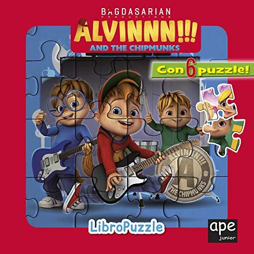 Alvinnn!!! and the Chipmunks. Libro puzzle. Ediz. a colori