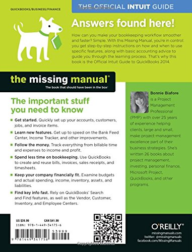 QuickBooks 2014: The Missing Manual: The Official Intuit Guide to QuickBooks 2014 (Missing Manuals)