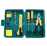 11piezas Kit de mantenimiento del coche paquete coche emergencia herramienta de reparación Kit Set w/caja