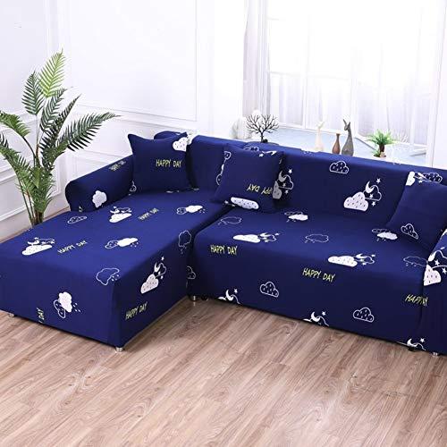 QYN Stretch Sofa-Abdeckung,Anti-Slip Alle-Zweck Sofa Sofabezüge Mehrere Größen Universal Einfach Für Leder Stoff Sofa-24 3 Sitzer