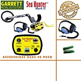 GarrettSea Hunter Mark II –Detector de metales con sonido y auriculares sumergibles