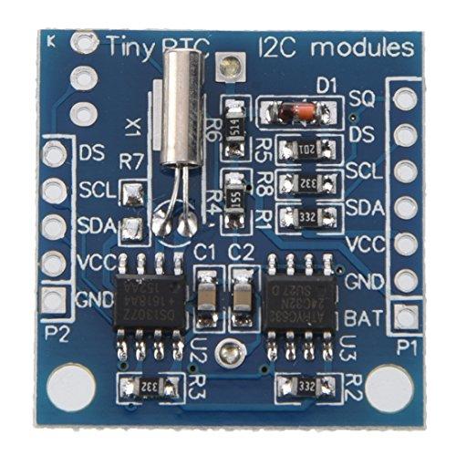 SODIAL(R) I2C DS1307 Modulo de reloj de tiempo real para Arduino Tiny RTC