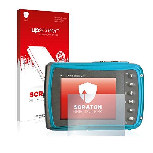 upscreen Schutzfolie kompatibel mit easypix Aquapix W1024 Splash – Kristallklar, Kratzschutz, Anti-Fingerprint