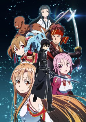 Sword Art ONLINE – Japanese Textless Imported Movie Wall Poster Print - 30CM X 43CM