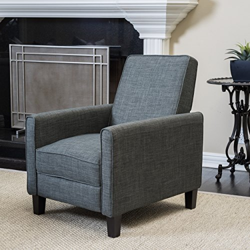 Christopher Knight Home Darvis Recliner Club Chair, Grey