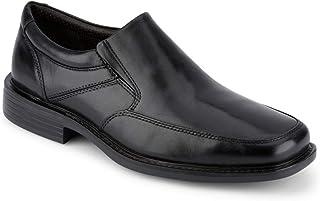 حذاء رجالي من الجلد من Dockers من Park، أسود، 15 M