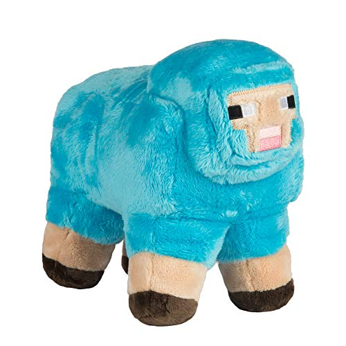JINX Minecraft MINECON Earth 2017 Sheep Plush Stuffed Toy, Turquoise, 10