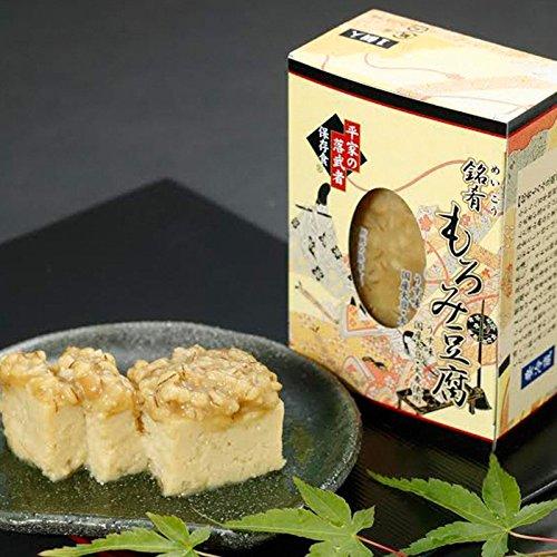 銘肴 もろみ豆腐 (ミニ) 180g×3箱 たけうち 厳選された特製もろみを使用したやわらかくクリーミーな豆腐のもろみ漬け 和製チーズと称される極上の風味 お酒のおつまみにぴったりの逸品