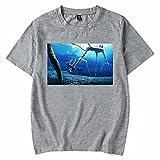 Boknait Mk Subnautica Logo Classic T-Shirt Game Design Arts for Fans Short Sleeve Shirt Graphic Design Funny Tshirt