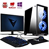 VIBOX Apache 9 Gaming PC Ordenador de sobremesa con Cupón de Juego, Windows 10 Pro OS, 22' HD...
