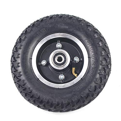 Neumático Exterior Interior de 200x50 con Cubo de Rueda Completa Neumático neumático 8X2 para Scooter eléctrico, Silla de Ruedas, Carro, Carro, Piezas