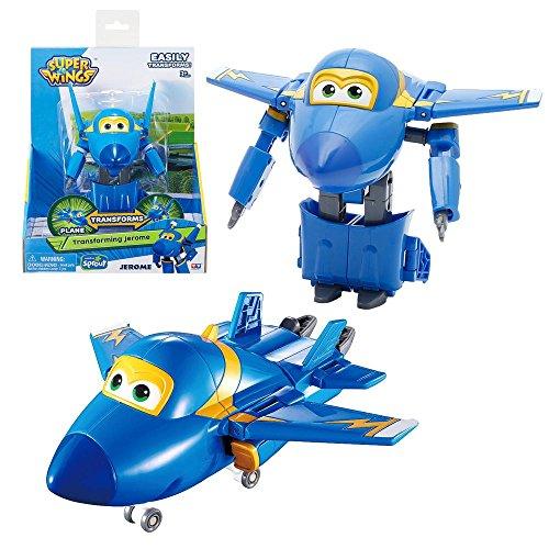 Super Wings - Flugzeuge mit Rückzugmotor Vroom´n Zoom zur Auswahl, Super Wings:Jerome