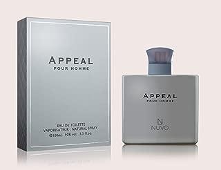 APPEAL - Eau De Toilette Pour Homme 100ml by NUVO Parfums - New Perfumes Collection for Men