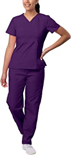 Sivvan Women's S8401prpxl Medical Scrubs, Purple, XL UK