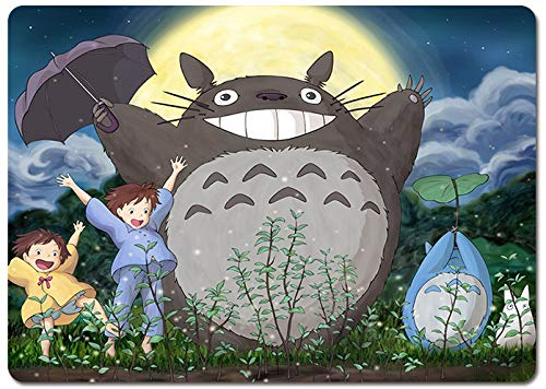SMAIGE Computer Gaming Mouse Pad/Mat with Smooth Silk Surface, Non-Slip Rubber Base Mousepad (Totoro)