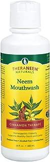 Theraneem Organix, Neem Mouthwash, Cinnamon Therape, 16 Ounce
