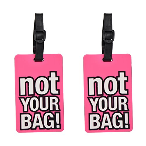Luggage Tag Humor  Not Your Bag  - 2 Pack