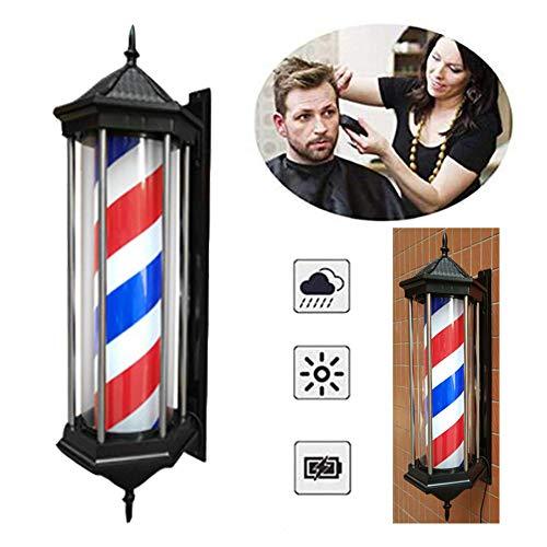 Openlucht kapper draaibaar bord voor schoonheidssalon LED Barber Pole Light Salon hanglamp Barber Pole Hair strip waterdicht