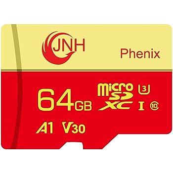 microSDカード microSDXCカード 64GB JNH 超高速Class10 UHS-I U3 V30 4K Ultra HD アプリ最適化A1対応 【国内正規品 5年保証】